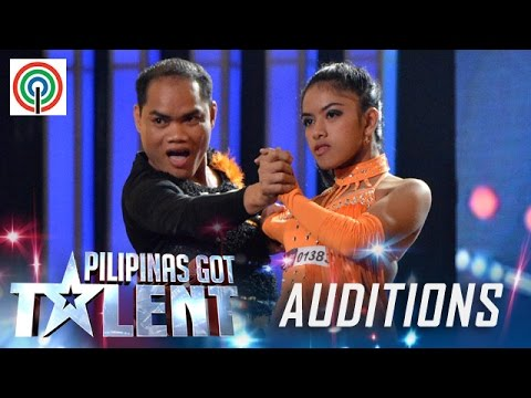 Pilipinas Got Talent Season 5 Auditions: Amazing Den-Anne - Comedy Ballroom Pair