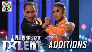 Pilipinas Got Talent Season 5 Auditions: Amazing Den-Anne - Comedy Ballroom Pair