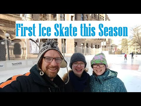 First Time Ice Skating 2018 - Explore Our City #9