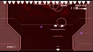 Space Invaders Infinity Gene (PS3) Music Mode Gameplay
