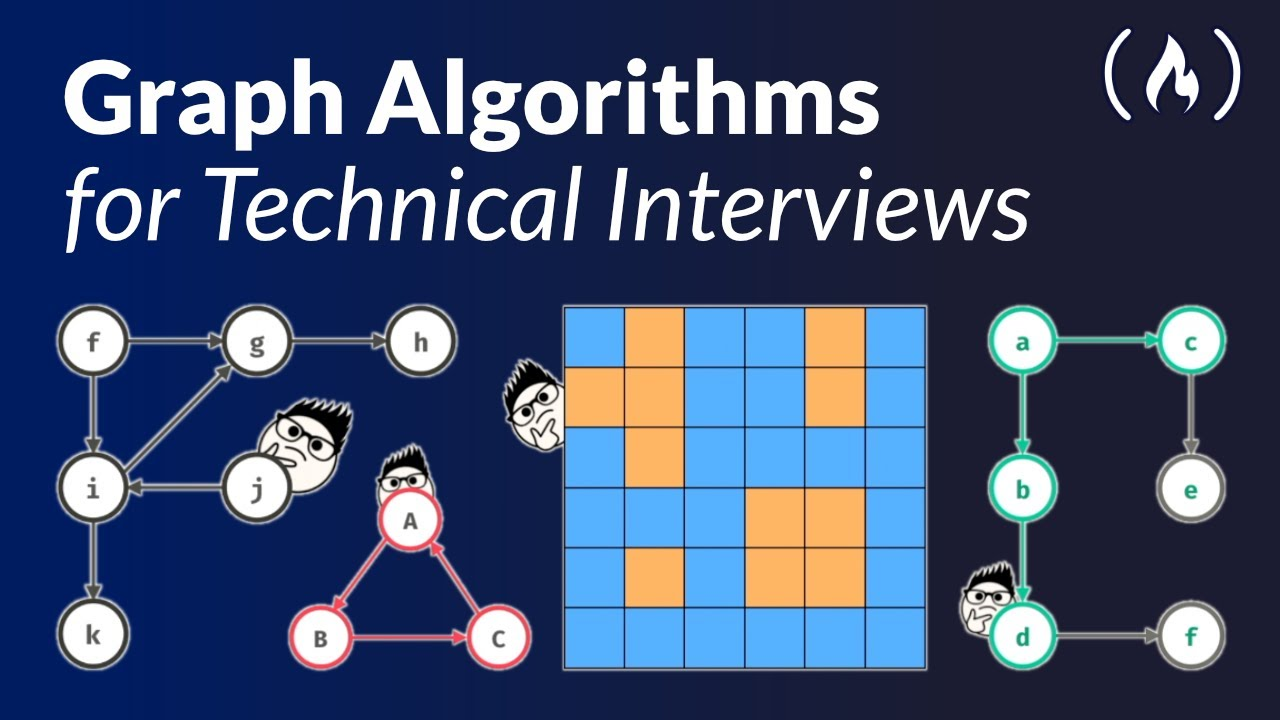 Graph Algorithms for Technical Interviews - Full Course