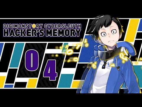 Let's Play Digimon Story Cyber Sleuth: Hacker's Memory [Blind] - #04 - Im Hudie-Hauptquartier