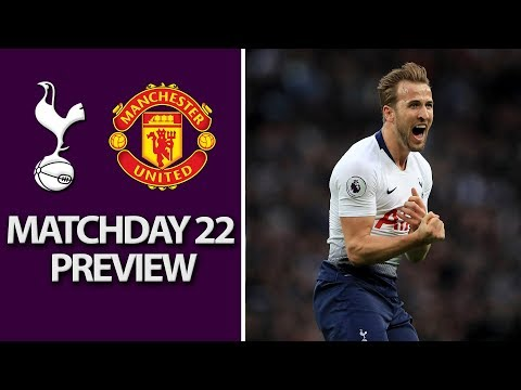 Tottenham v. Man United | PREMIER LEAGUE MATCH PREVIEW | 1/13/19 | NBC Sports