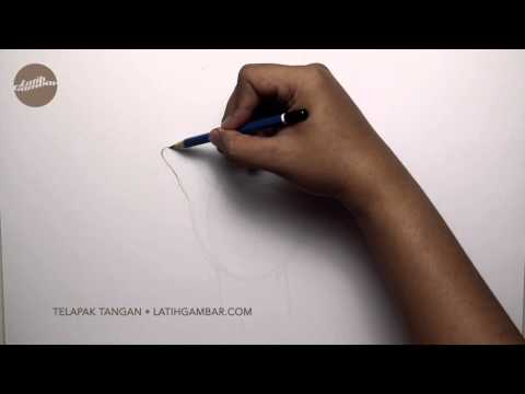 Latih Gambar Tangan (Telapak Tangan) 001