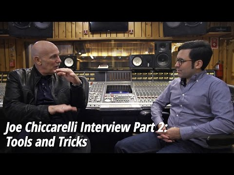 Joe Chiccarelli: (Frank Zappa, Spoon, Morrissey) Interview Part 2: Tools and Tricks