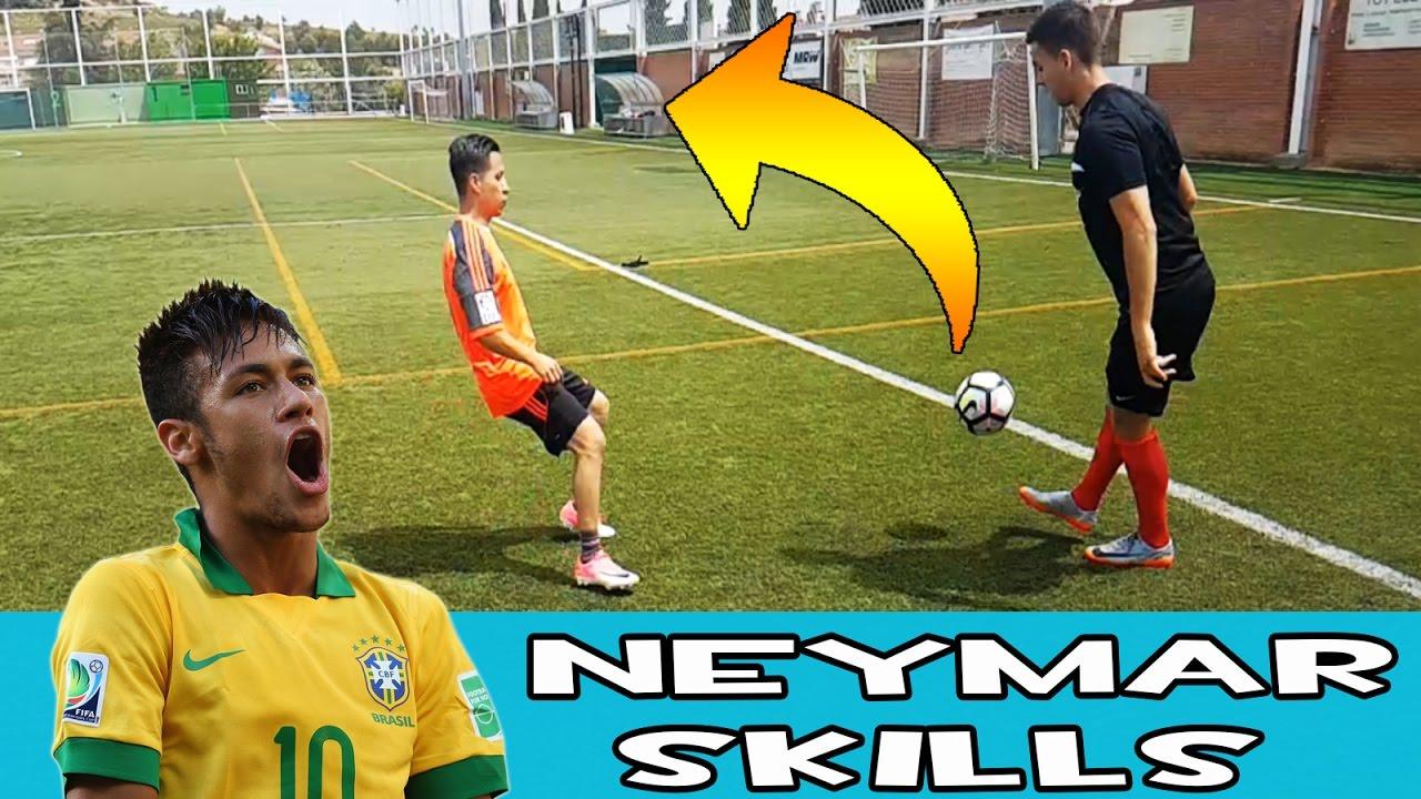 Espectacular Sombrero Neymar Jr Tutorial Regate Neymar Español Youtube