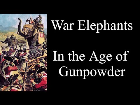 War Elephants in the Age of Gunpowder