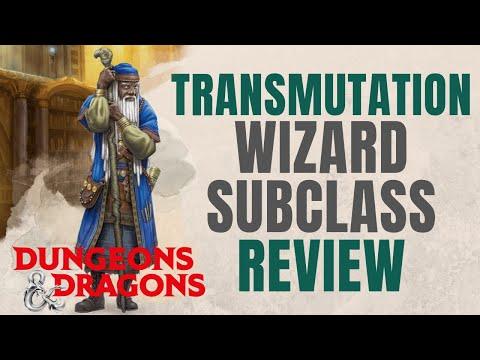 Transmutation Wizard - D&D 5e Subclass Series
