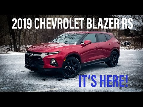 2019 Chevrolet Blazer RS IS HERE! FULL Review and Walkaround