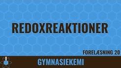 Kemi C-niveau 20 - Redoxreaktioner