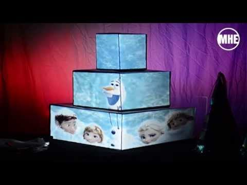 projection wedding cake mapping mhe youtube. Black Bedroom Furniture Sets. Home Design Ideas