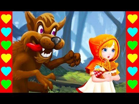 Мультик-сказка про Красную Шапочку и про Белоснежку. Новый сказочный детский мультфильм.