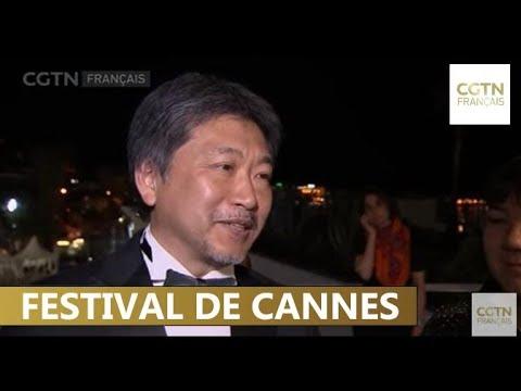 """Le film japonais """"Une affaire de famille"""" remporte la Palme d'or"""