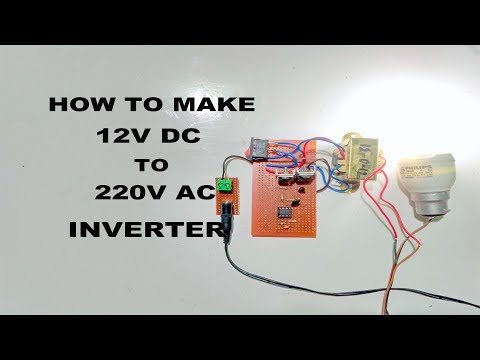 How to Make 12V DC to 220V AC Inverter: 4 Steps (with Pictures)