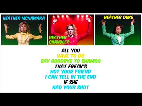Heathers - Candy Store (Clean) (Lyric Video)