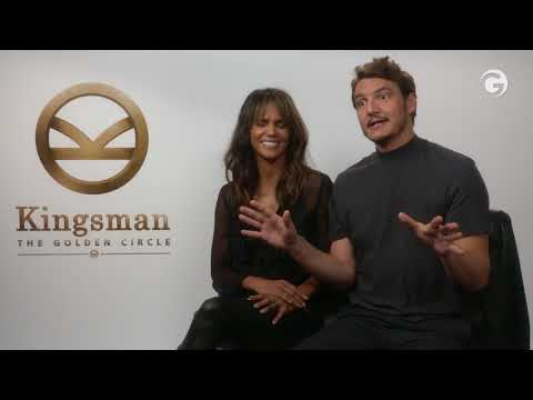 Kingsman: The Golden Circle s Halle Berry and Pedro Pascal