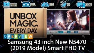 Samsung 43 inch New N5470 (2019 Model) Smart FHD TV Overview
