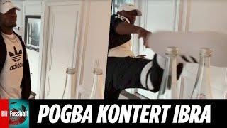 Bottle-Cap-Challenge: Pogba macht Zlatan nass