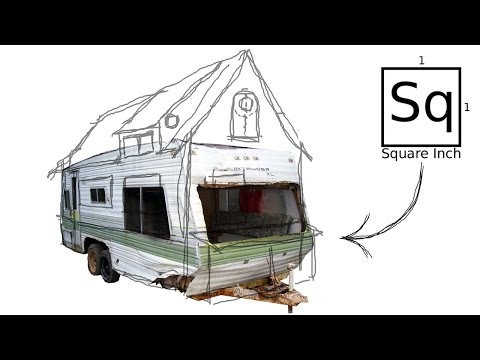Building a Tiny House #1 - Salvaging a Trailer