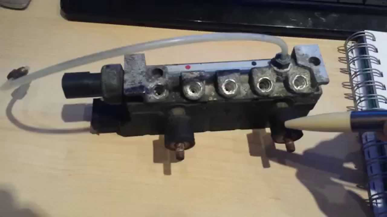 Part 3 W220 Airmatic Testing airmatic valve assembly  YouTube