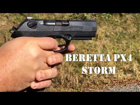 Range Time! Shooting the Beretta PX4 Storm in 9mm.