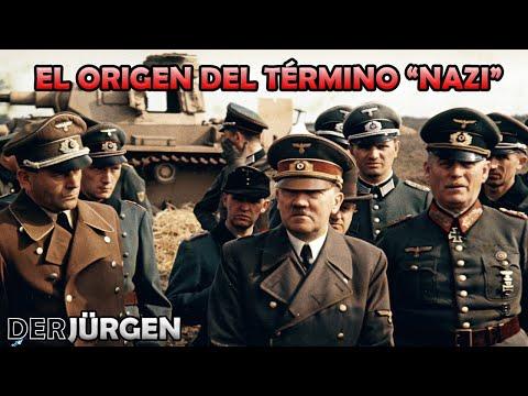"""¿De dónde surge el término """"nazi""""? - No es de donde creen que viene"""