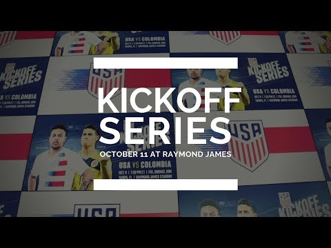 Kickoff Series - USA vs Colombia October 11th at Raymond James Stadium