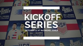 Kickoff Series - USA vs Colombia October 11th at Raymond James Stadium