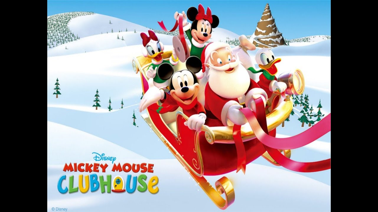 mickey mouse christmas song youtube. Black Bedroom Furniture Sets. Home Design Ideas