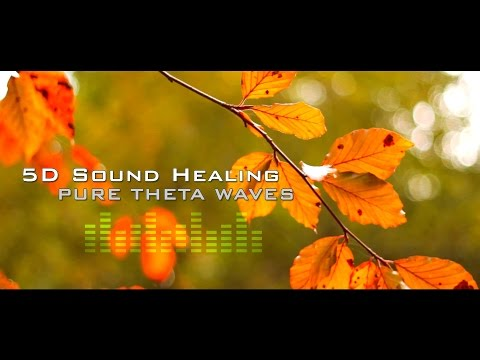 5D Theta Sound Healing  Ascension Meditation   Deep Relaxation  Clears Negative Energy