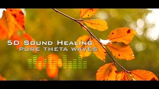 5D Theta Sound Healing - Ascension Meditation  - Deep Relaxation - Clears Negative Energy