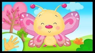 La comptinette du papillon - Petites comptines à gestes pour bébés - Titounis