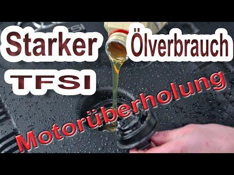 Audi 1.8 TFSI Ölverbrauch  Motor Zusammenbau | Steuerkette
