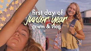 FIRST day of school during a GLOBAL PANDEMIC | first day of school junior year 2020