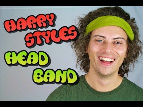 How To Wear HARRY STYLES Headband..!    ANDY BRADLEY