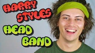 how to wear harry styles headband   andy bradley