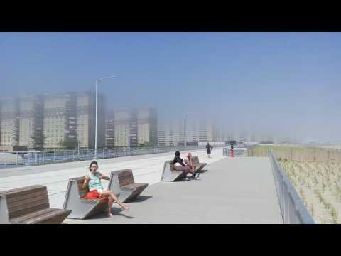 Rockaway Beach and Boardwalk  NYC Parks Queens