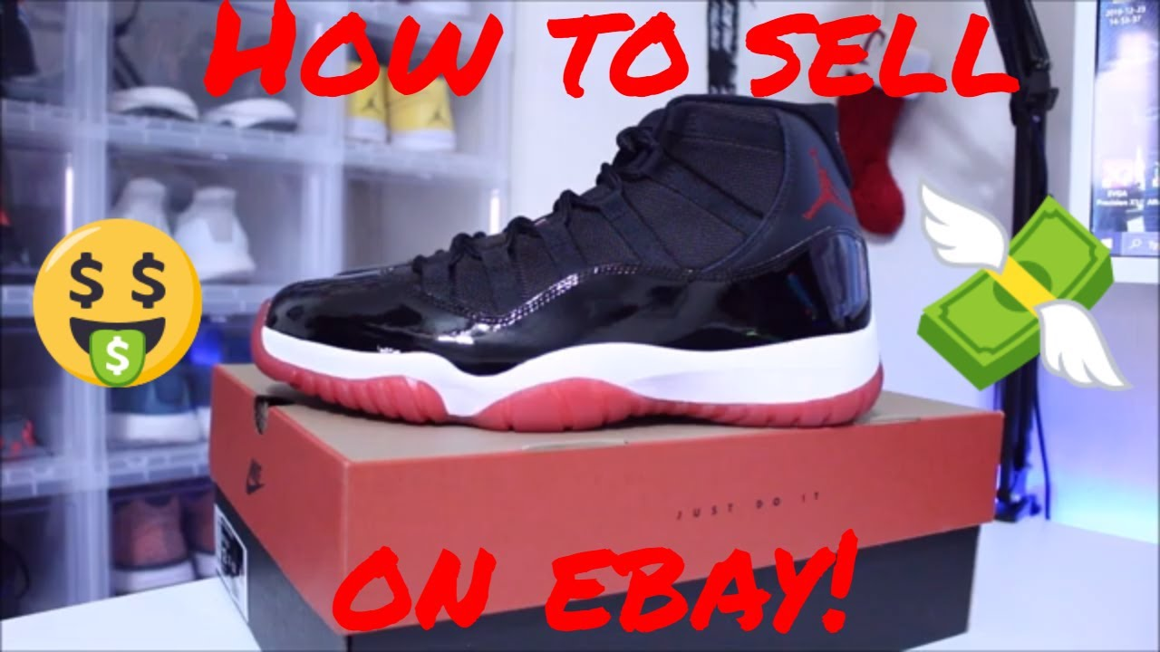 HOW TO SELL SHOES ON EBAY! BEGINNER TUTORIAL!
