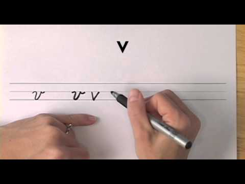 How To Write In Cursive // Lesson 22 // A Complete Course // FREE Worksheets