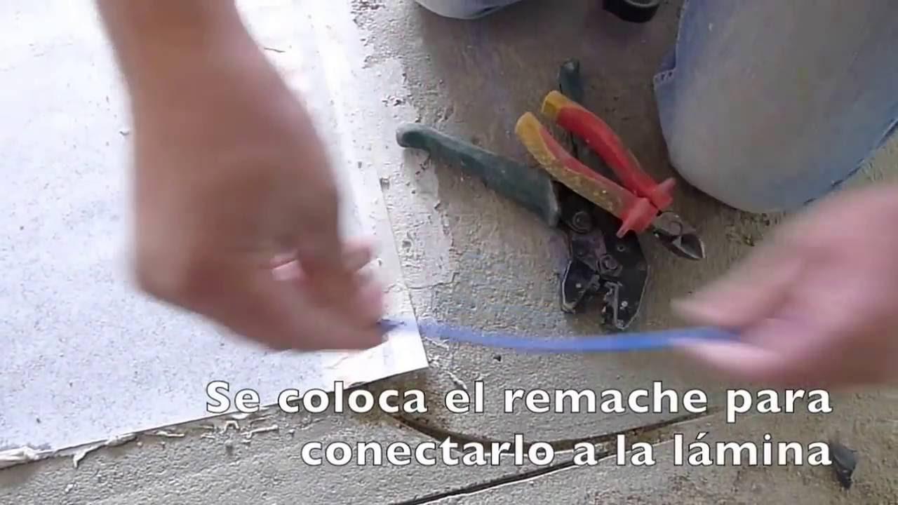 Instalaci n suelo radiante el ctrico a baja tensi n paso - Colocacion suelo radiante ...