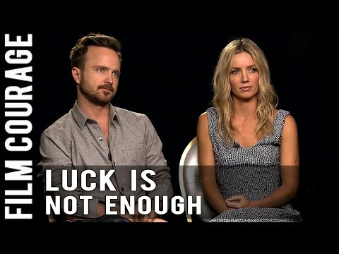 Aaron Paul & Annabelle Wallis On What It Takes To Be Successful In Hollywood