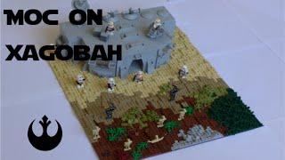 LEGO Star Wars MOC-Clone Base on Xagobah  | CONTEST ENTRY