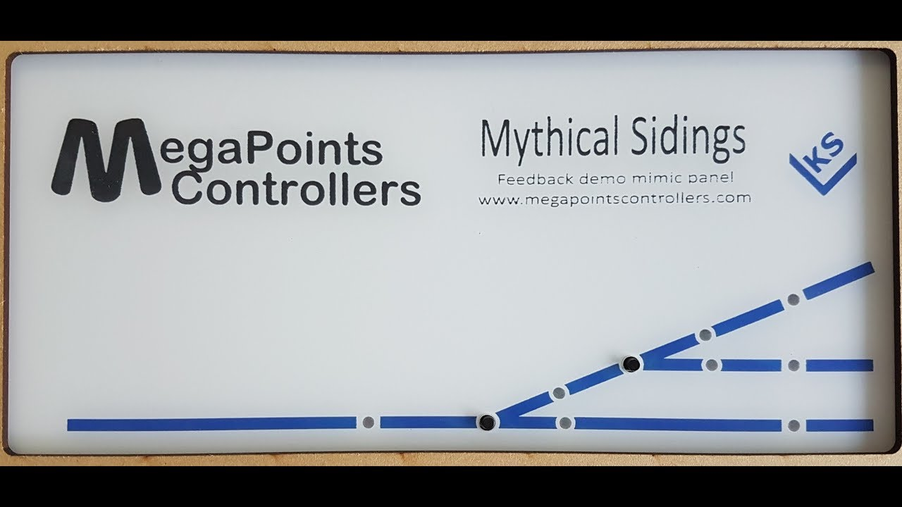Megapoints Controllers Mimic Panel With Feedback Wiring Mythical A Model Rr Siding Diagram Get Free Image About Sidings