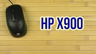 Распаковка HP X900 USB Black V1S46AA