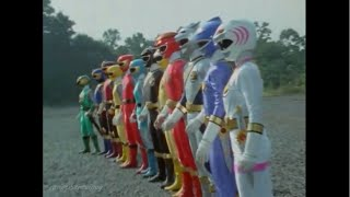 Ninpu Sentai Hurricanger vs Gaoranger Roll Call