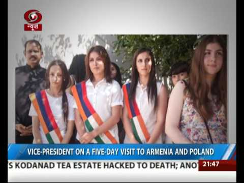 Thumbnail: Vice President on a 5-day visit to Armenia and Poland
