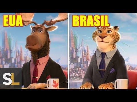 Mudanças Nos Filmes Da Disney-Pixar Em Outros Países