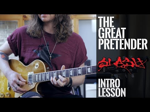 "How To Play ""The Great Pretender"" – Slash, Myles Kennedy And The Conspirators (GUITAR INTRO)"