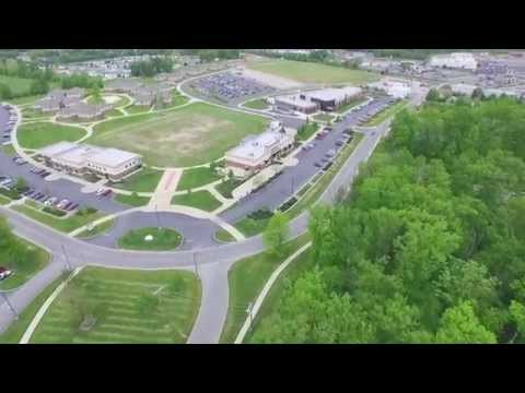 Aerial footage of the University of Northwestern Ohio with DJI Inspire 1