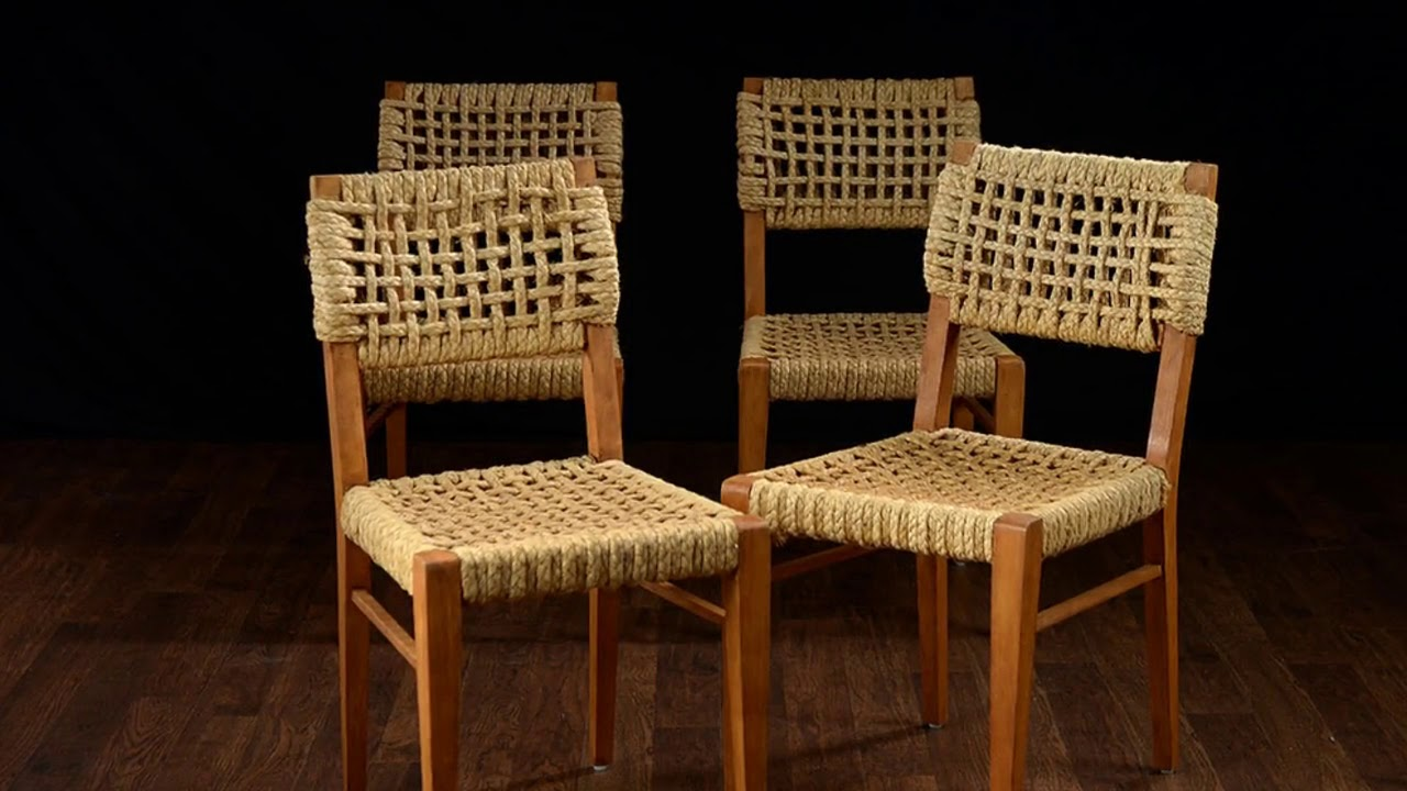 Woven Dining Room Chairs Furniture Ideas Youtube